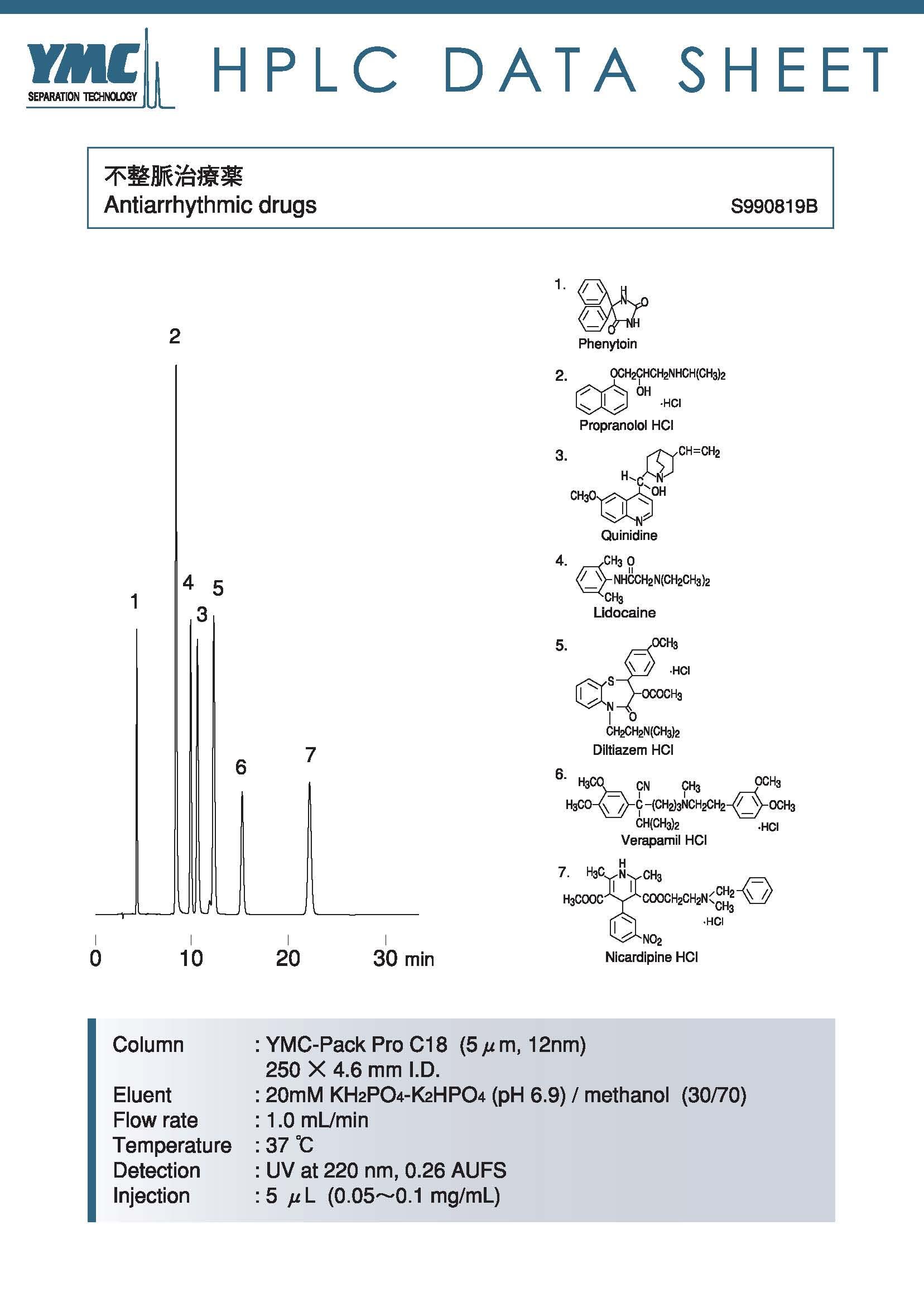 AS12S05-2546WT分离抗心律失常药